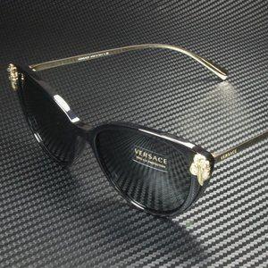 Versace 55mm Black Sunglasses